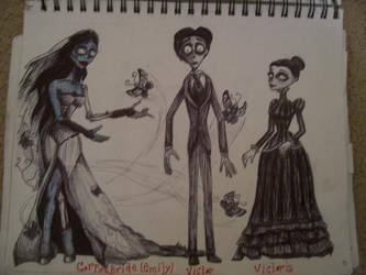 Emily, Victor, and Victoria by HER13