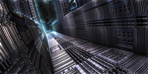 dark hallway by KPEKEP