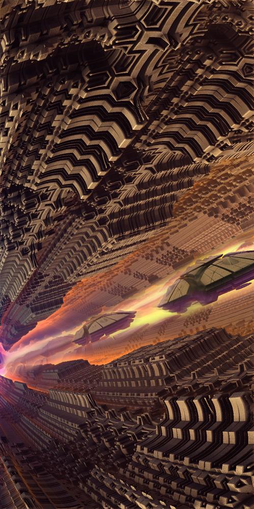 The rise ufo by KPEKEP