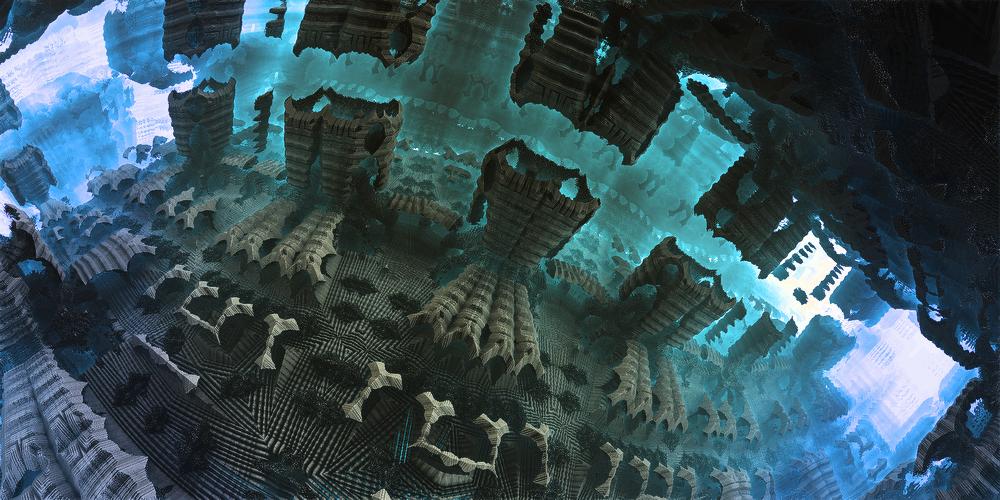 Underwater ruins by KPEKEP