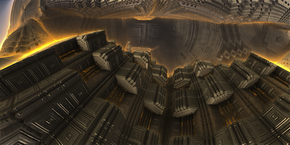 staircase panorama by KPEKEP