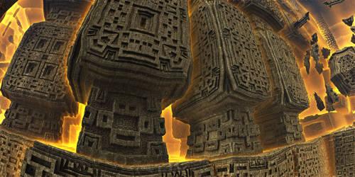 Ancient giants by KPEKEP