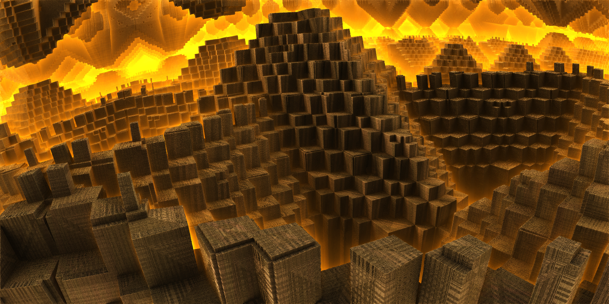 Pyramid of ancient civilization by KPEKEP