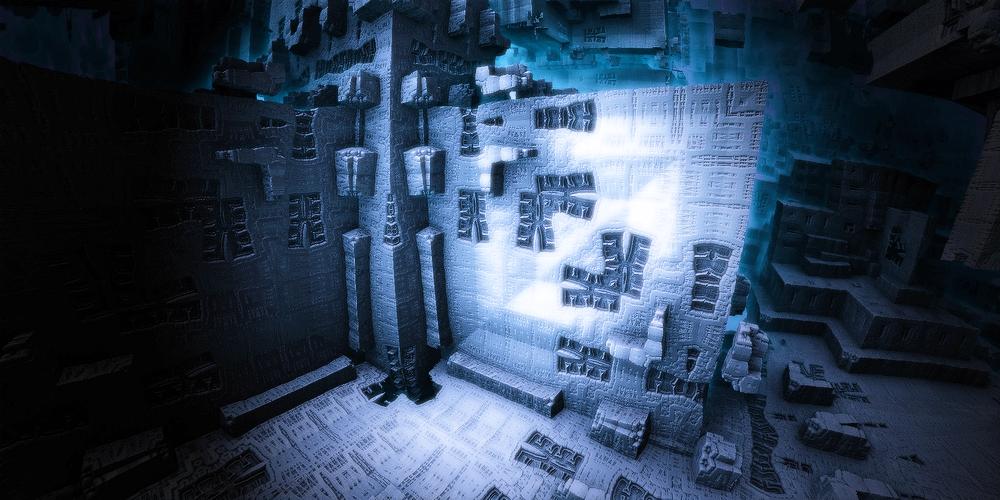 Frozen wall by KPEKEP