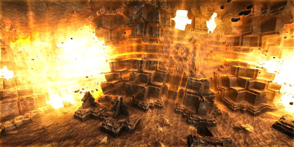 The grandiose explosion