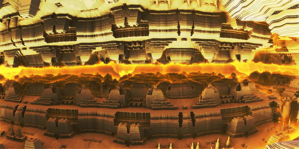 Evening stone city by KPEKEP