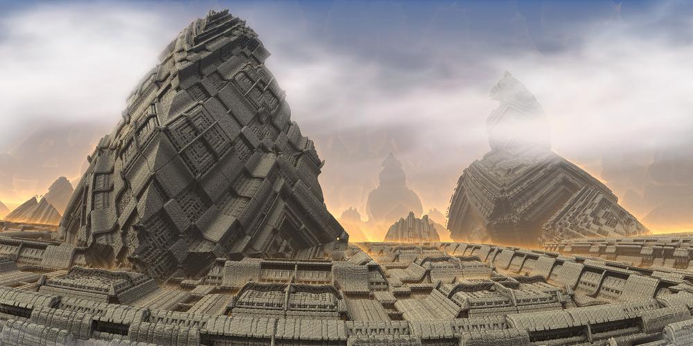 Mobius-Heavenly peak by KPEKEP