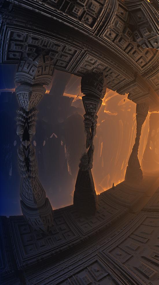 Fractal piece for Lara by KPEKEP