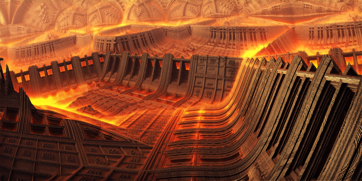 Mobius-Gigantic fire partitions by KPEKEP