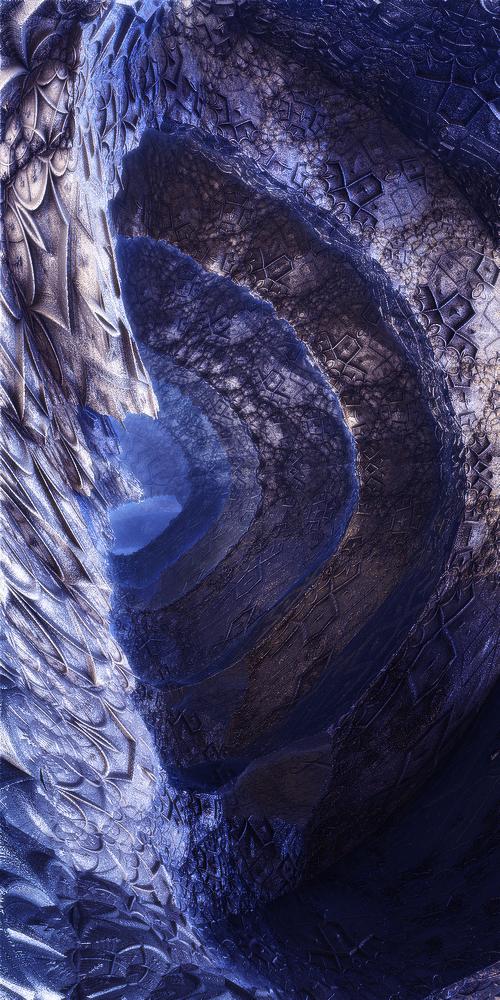 Frozen cave by KPEKEP