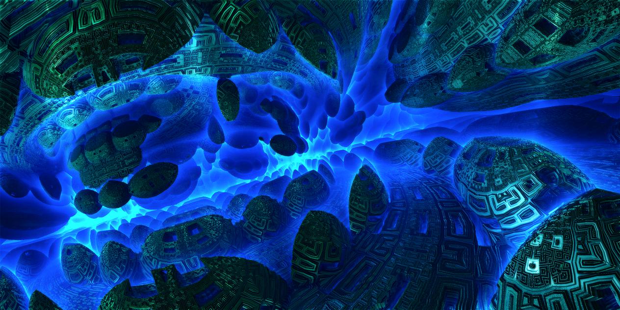 Underwater vortex creations by KPEKEP