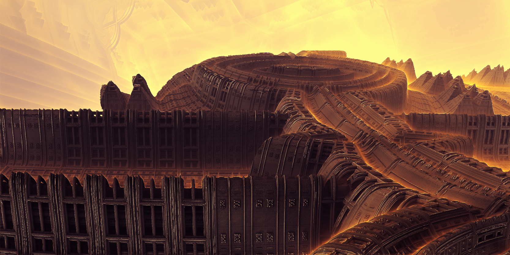 Mobius - Solar stadium by KPEKEP