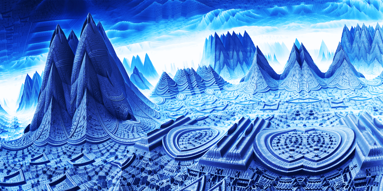 Paladium - Ice cave by KPEKEP