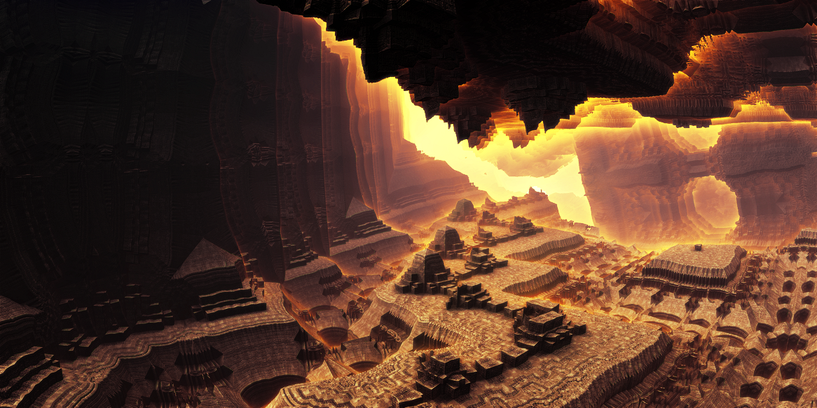 Ancient underground city by KPEKEP