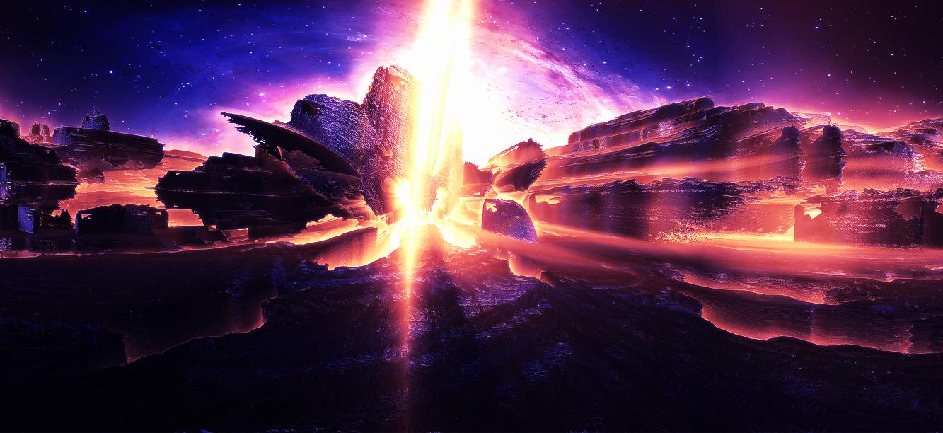 Cosmic conflict by KPEKEP