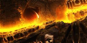 Fiery station by KPEKEP
