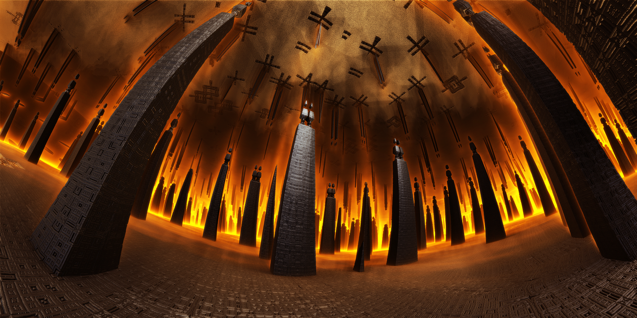 Corridor Of The Heroes Of Antiquity by KPEKEP