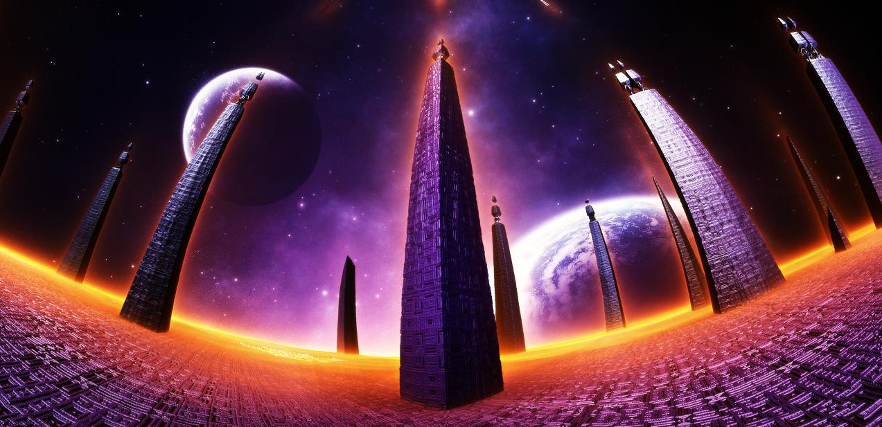 Ancient pillars by KPEKEP