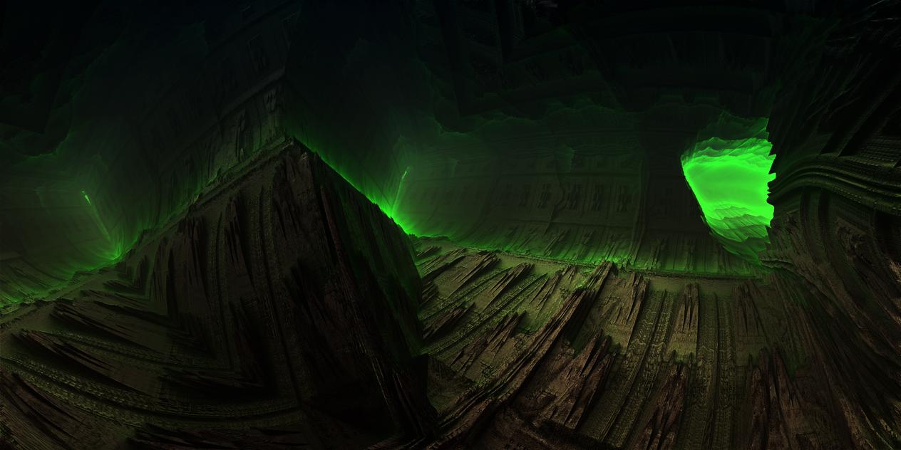 Underground mine - zone of alienation by KPEKEP