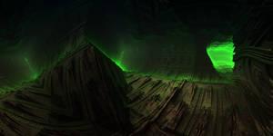 Underground mine - zone of alienation