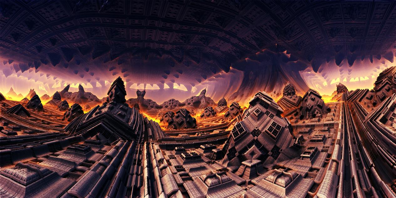 Mobius - cave by KPEKEP