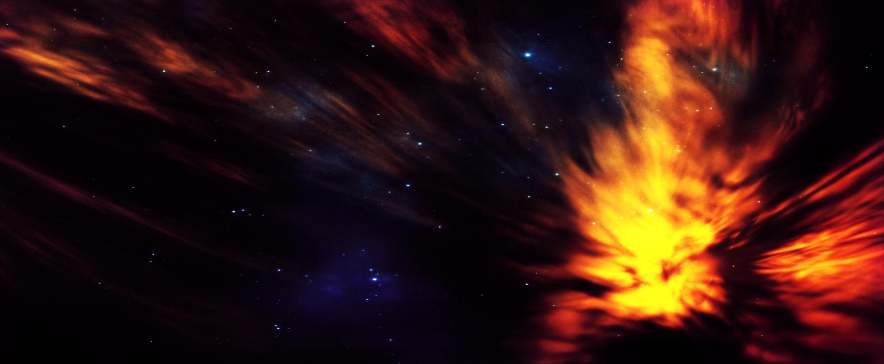 Fiery moment by KPEKEP