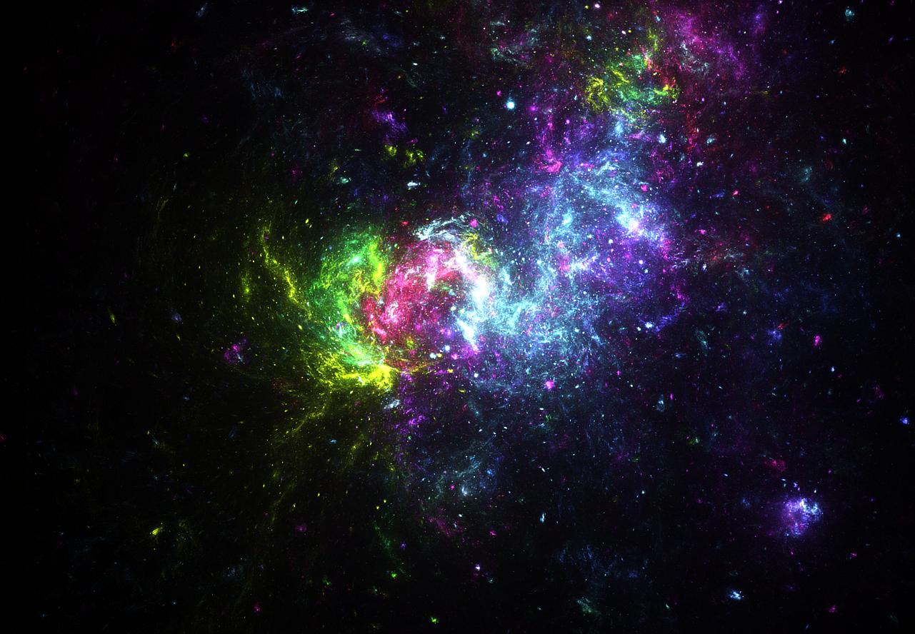Rebirth in space by KPEKEP on DeviantArt  Fractals In Space