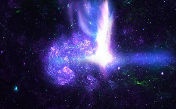 Treasures in space - quasar