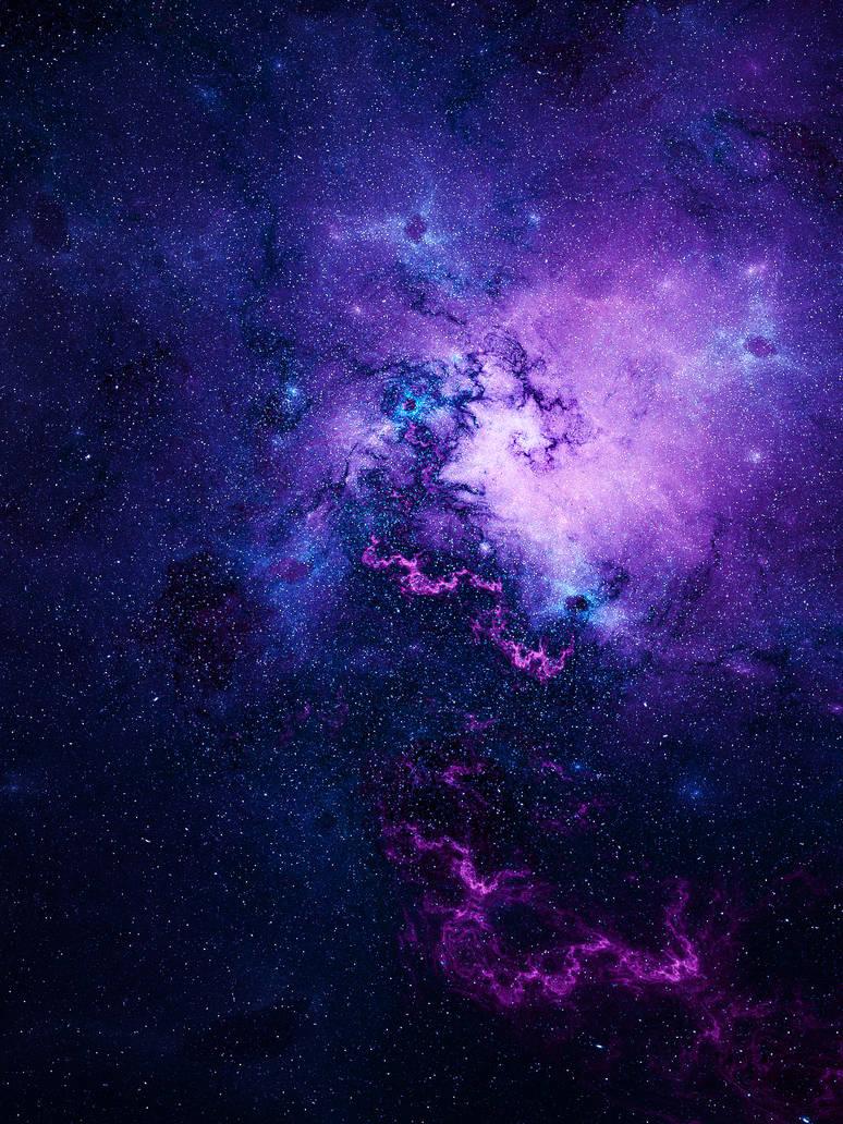 purple space by KPEKEP