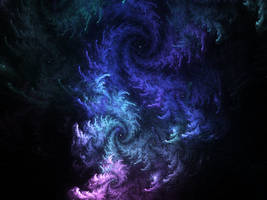 snowflakes galaxy by KPEKEP