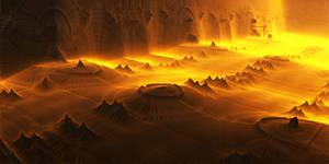 Paladium - environments in the hot desert
