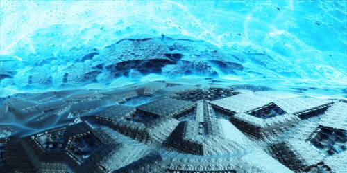 Ice base by KPEKEP
