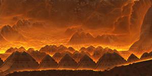 Mobius-Pyramid City