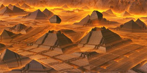 Mobuis-undocking of the pyramids by KPEKEP