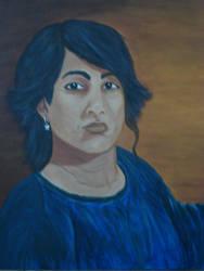 First Self  Portrait by TAMASJADE