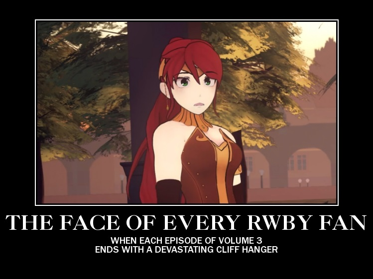 demotivational poster rwby pyrrha by justrwby rk on