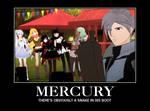 Demotivational Poster RWBY - Mercury