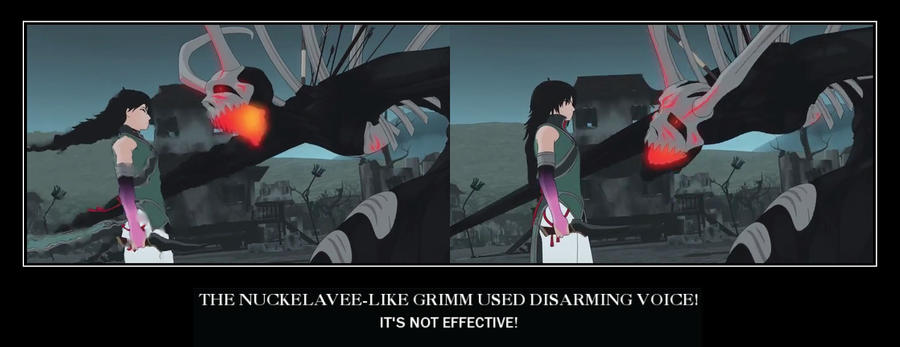 Demotivational Poster Rwby Disarming Voice By Justrwby