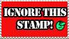 Ignore this Stamp by teddiem