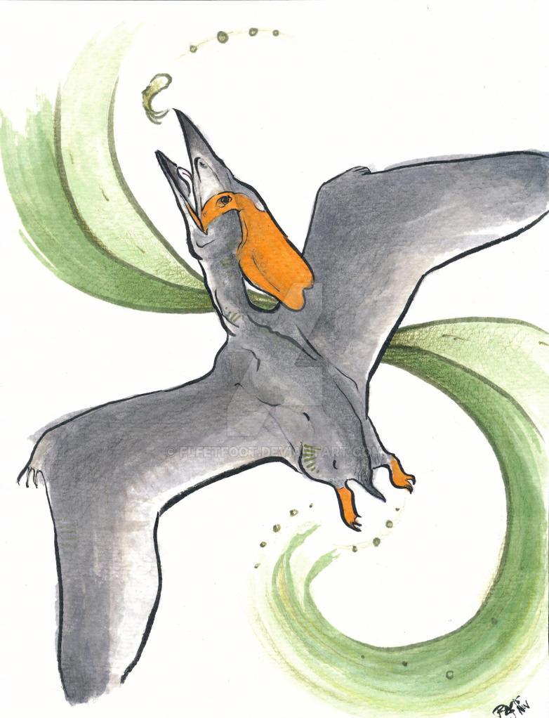 Pterosaur - Thalassodromeus Sethi by fleetfoot