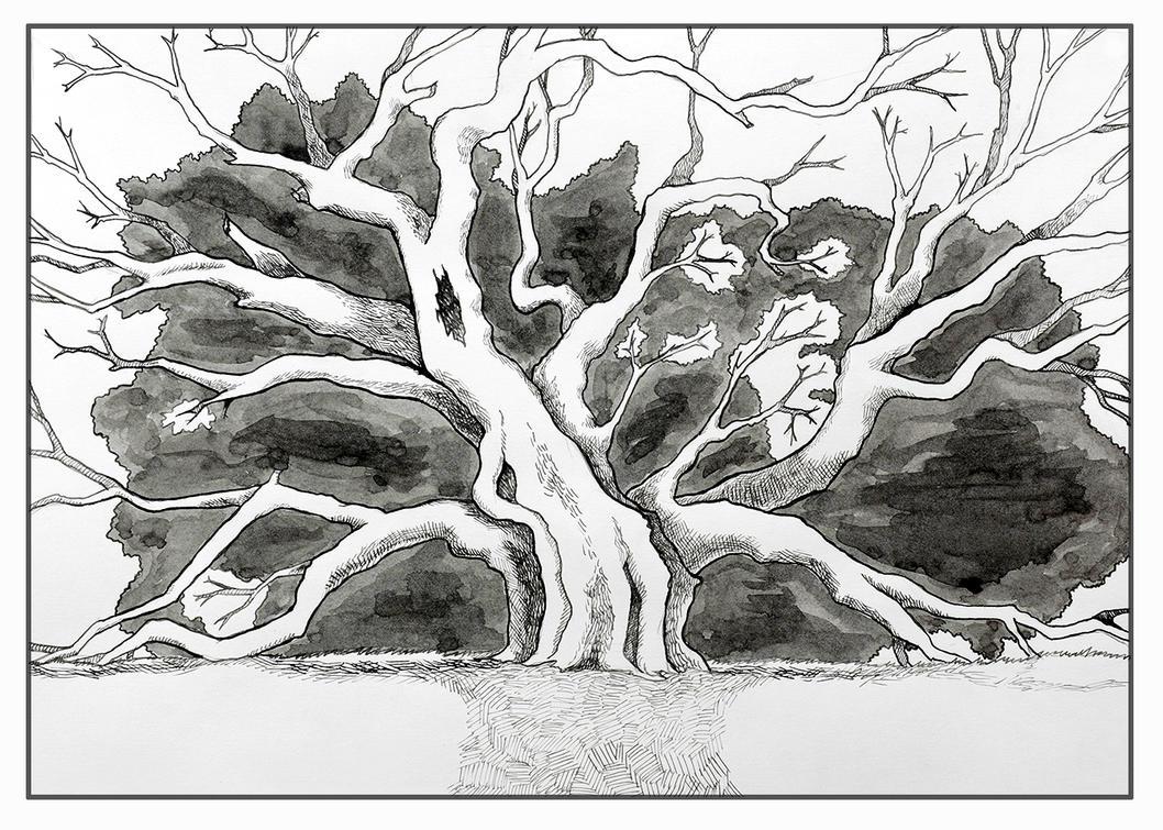 Tree by AndrielTaro