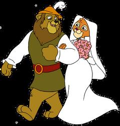 Leo Lionheart (Robin Hood and Kairel (Maid Marian)