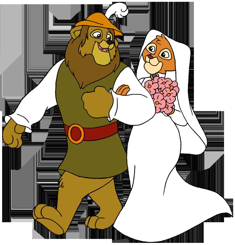 Leo Lionheart (Robin Hood and Kairel (Maid Marian) by LionheartCaptain