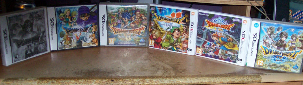my dragon quest collection by kingleolionheart on deviantart