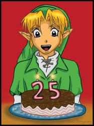 Zelda's 25th Anniversary by kimya