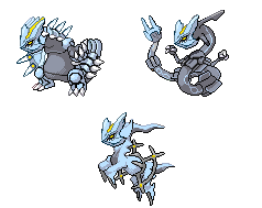 Kyurem Tyrant, Cumulus and Corrupted Forms by WeegeeDude