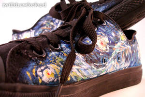 Starry Night Shoes by willdrawforfood