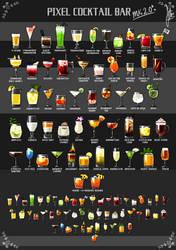 Pixel Cocktails (Part 2) by Duckpasta