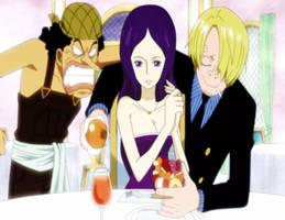 [One Piece] Meeting Sanji by CharleneRosette