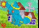 Ziva (Art Fight) by WarNightZollo